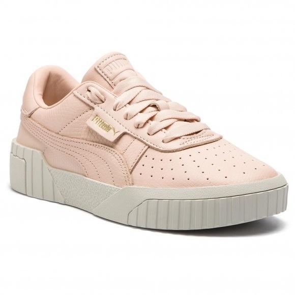 Puma Shoes   Puma Cali Emboss Pink